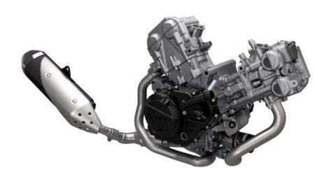 SV650 ABS vツインエンジン
