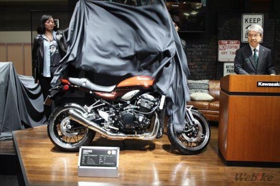 東京モーターサイクルショー2017-カワサキ