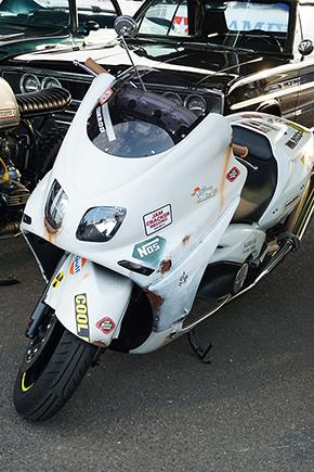 所ジョージ バイク t-max