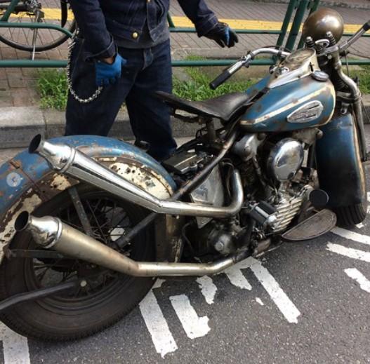 草薙 剛 バイク
