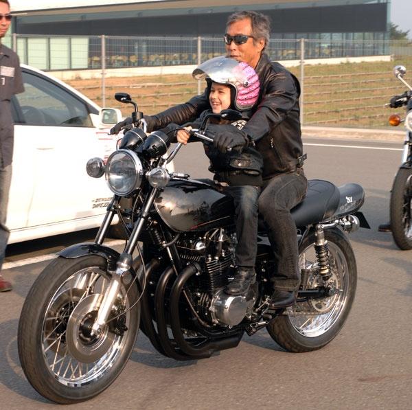 岩城滉一 バイク