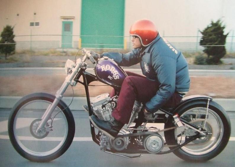長瀬智也 バイク