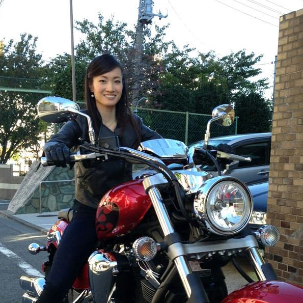 荒川静香 バイク