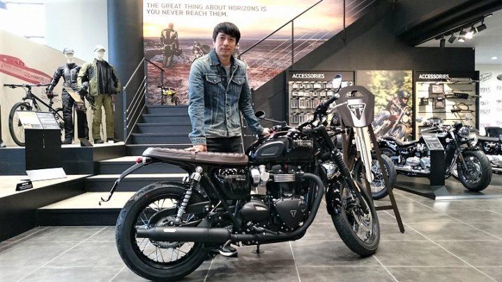 徳井 バイク