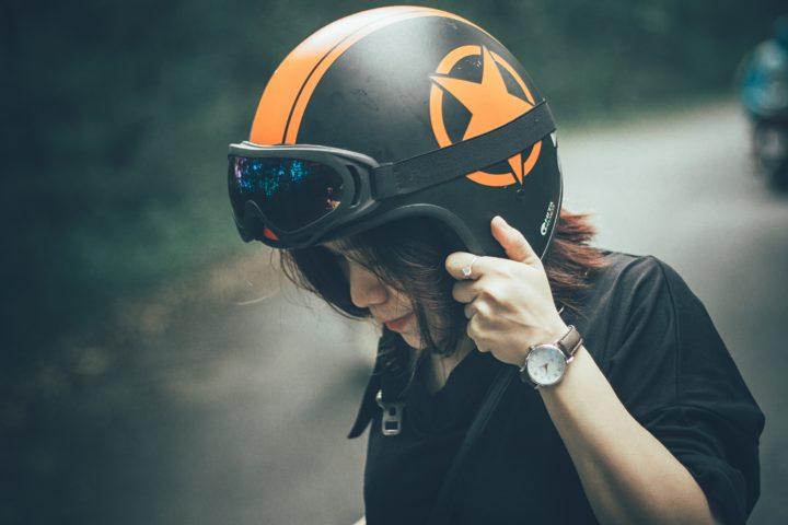 バイク 女性
